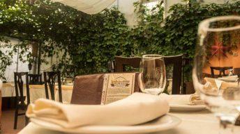 градината на индийски ресторант Kohinoor
