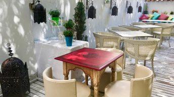 Лятната градина в annette марокански ресторант