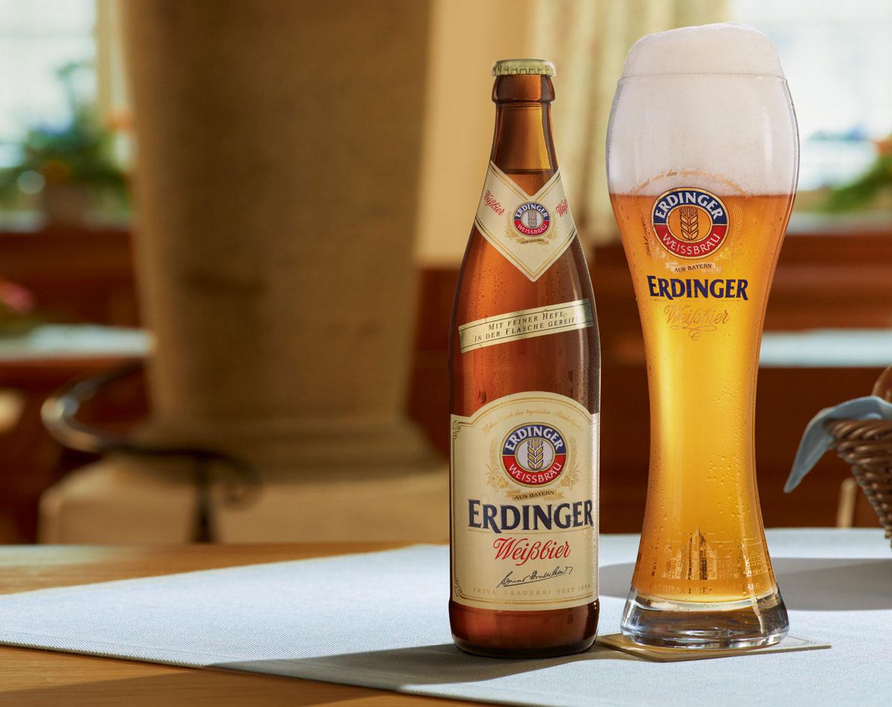 Прекрасната и жива Ердингер в царството на бирата