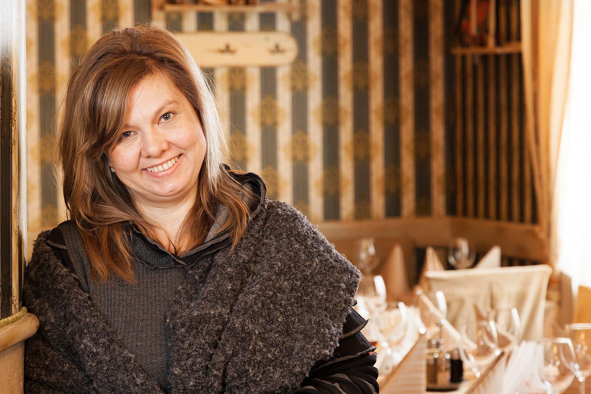 Наталия шеф-повар от руски ресторант Арбат