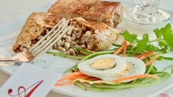 ястие от руски ресторант Арбат