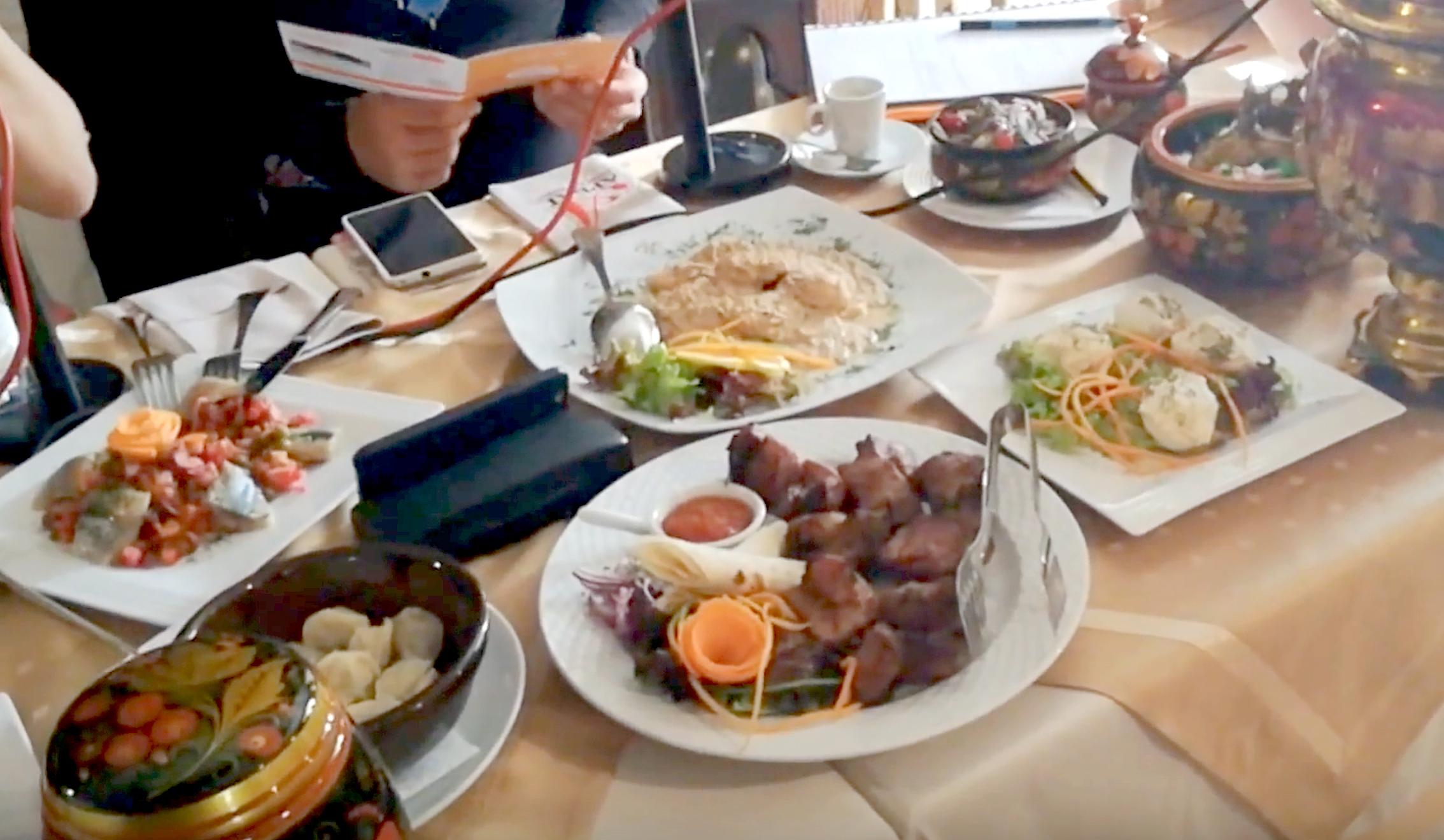 Най-добрият руски ресторант в София по време на Sofia restaurant Week