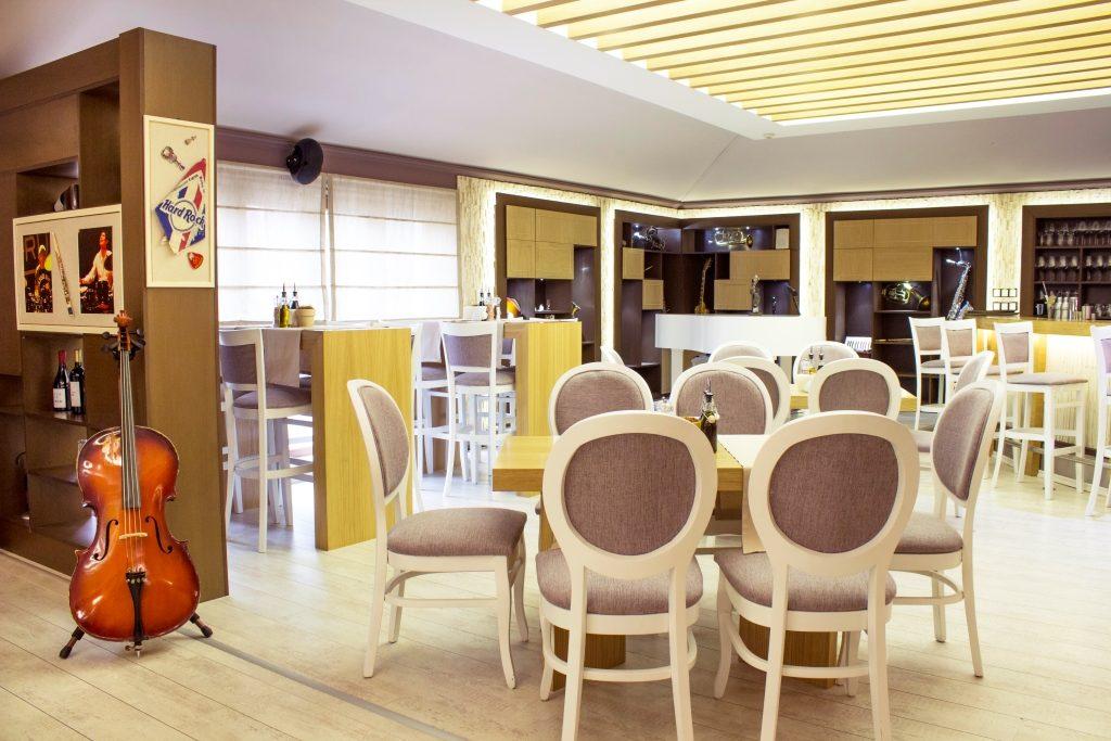 Интериор от ресторант Петрус София