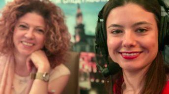 Михаела Тодорова и Олга Добрева пред камерата на Очилатите Дегустатори