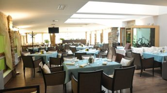 Атмосферата на ресторант Петрус София