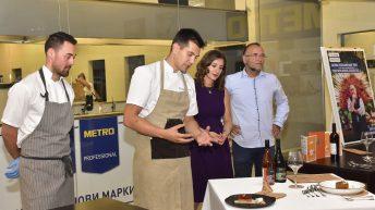 Представяне на ястията на ресторант The View с Ники Коев на откриването на Sofia Restaurant Week
