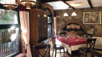 Интериор на ресторант Сол и пипер в Кастело ди Сан Марино - София