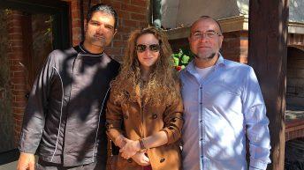 Ники Коев с Очилатите Дегустатори в Кастело ди Сан Марино