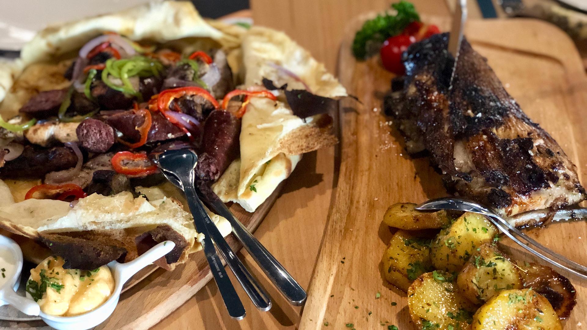 Балканското Калцоне в ресторант Nota Bene