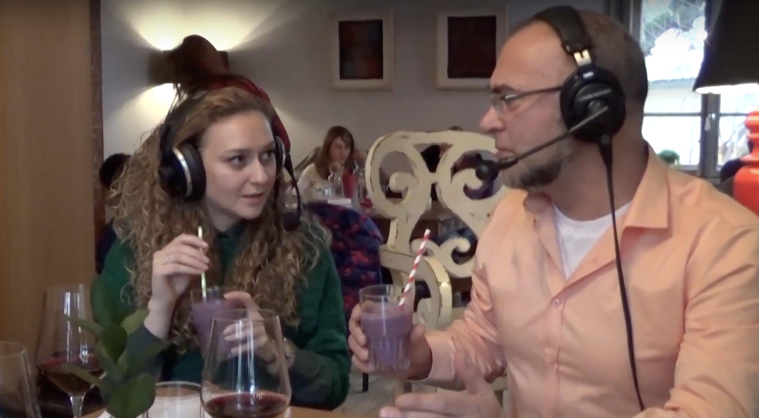 Ники Коев и Петя Зунгорлиева дегустират в Soul Kitchen