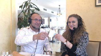 Наздраве с Ники Коев в италиански ресторант La Terrazza в Arena di Serdica
