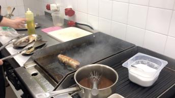 в кухнята на La terrazza