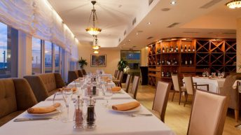 Интериор на италиански ресторант La Terraza