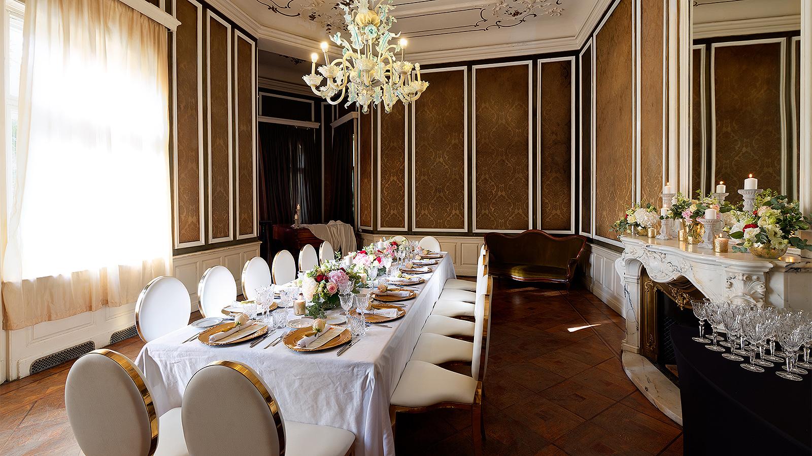 Кабинетът на принц Кирил – Mastercard Priceless Dinners