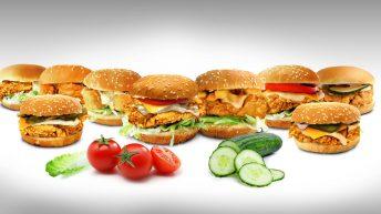 Пилешки хамбургери