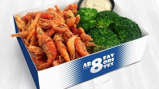 скариди с броколи – Fish and Chips