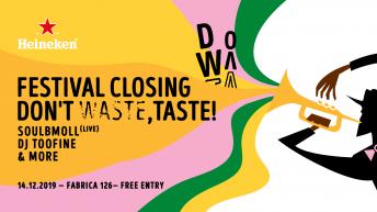 Don't Waste Taste и Chefs Club Sofia