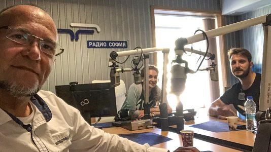 Ники Коев в Радио София