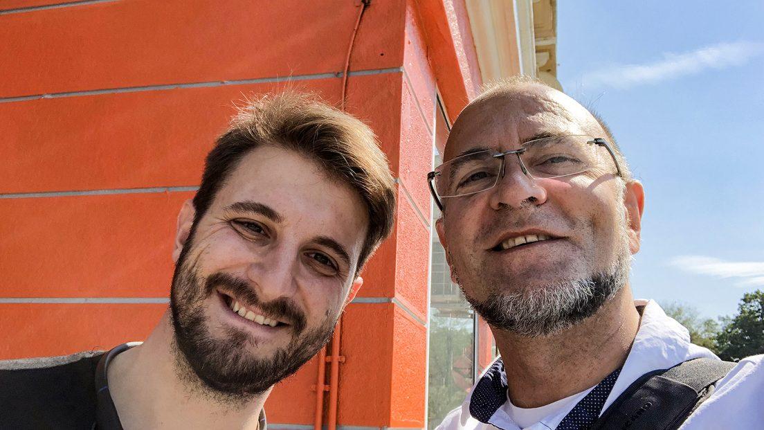 Виктор Жечев и Ники Коев за Chefs Club Sofia